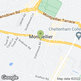 Map of Painswick House Dental Practice in Cheltenham, gloucestershire