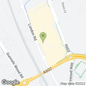 Map of Harvester in Stevenage, hertfordshire