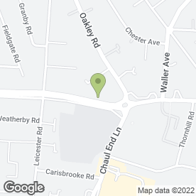 Map of EX L Driving School in Luton, bedfordshire