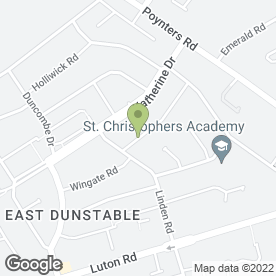 Map of Shotokan Karate in Dunstable, bedfordshire