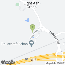 Map of Holiday Inn - Colchester in Colchester, essex