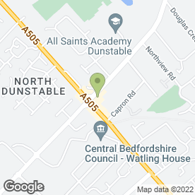Map of National Tyres and Autocare in Dunstable, bedfordshire