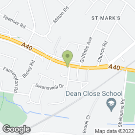 Map of Cheltenham Chiropractic Clinic Ltd in Cheltenham, gloucestershire