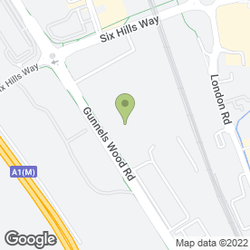 Map of Stevenage Tyre & Mot Centre Ltd in Stevenage, hertfordshire