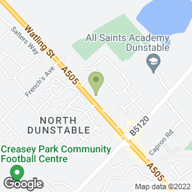 Map of Safestore Self Storage in Dunstable, bedfordshire