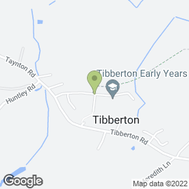 Map of Chris Abbey Decorators in Tibberton, Gloucester, gloucestershire