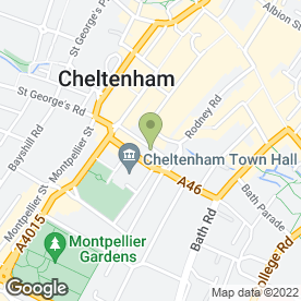 Map of Print By Design in Cheltenham, gloucestershire