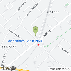 Map of Sheppard Auto Repairs in Cheltenham, gloucestershire