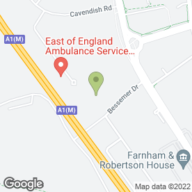 Map of SDC Performance UK Ltd in Stevenage, hertfordshire