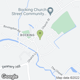 Map of B.D.A. Driving School in Bocking, Braintree, essex