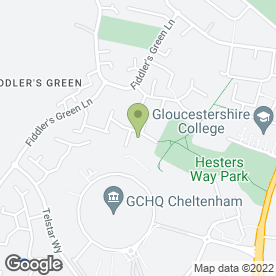 Map of CLAIRES CAKES CHELTENHAM in Cheltenham, gloucestershire