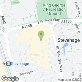 Map of Thomson in Stevenage, hertfordshire