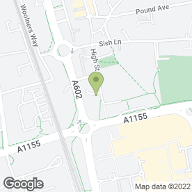 Map of A.K Steel Ltd in Stevenage, hertfordshire