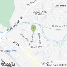 Map of Easidrive Driving School in Luton, bedfordshire