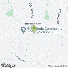 Map of IVORY TAYLOR HAIR & BEAUTY in Highwoods, Colchester, essex