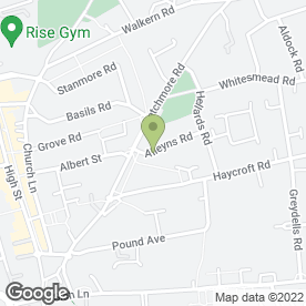 Map of K.C.F.I Plumbing & Heating Engineer in Stevenage, hertfordshire