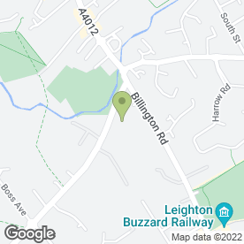 Map of C & C Removals Ltd in Grovebury Estate, Leighton Buzzard, bedfordshire