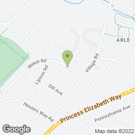 Map of Bushido Academy of Martial Arts in Cheltenham, gloucestershire