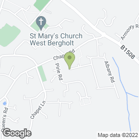 Map of West Bergholt Surgery in West Bergholt, Colchester, essex