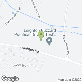 Map of MK TYRES in Leighton Buzzard, bedfordshire