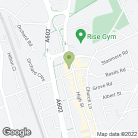 Map of Beauty Within (Stevenage) Ltd in Stevenage, hertfordshire
