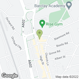 Map of Ramada Cromwell Stevenage in Stevenage, hertfordshire