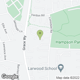 Map of The Almond Tree in Stevenage, hertfordshire
