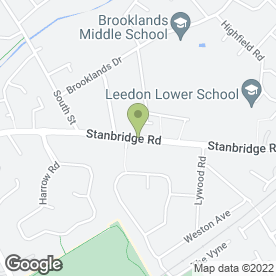 Map of PDL Builders in Leighton Buzzard, bedfordshire