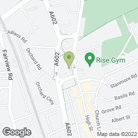 Map of Springfield Playgroup & Pre-School in Stevenage, hertfordshire