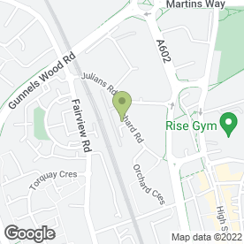 Map of M. Hyland Motor Services Ltd in Stevenage, hertfordshire