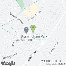 Map of Kidsunlimited Nurseries - Bramingham in Luton, bedfordshire