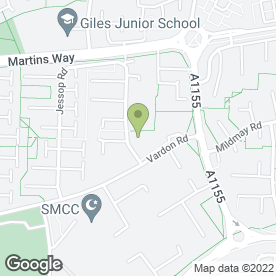 Map of LYN WARD HAIRDRESSING FOR MEN in Stevenage, hertfordshire