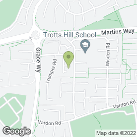 Map of Buffet Business in Stevenage, hertfordshire