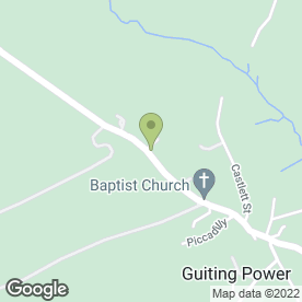 Map of HOLLOW BOTTOM in Guiting Power, Cheltenham, gloucestershire