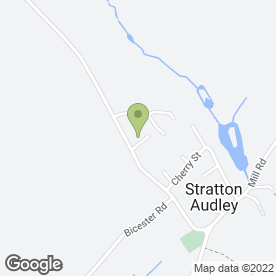 Map of Paul Jefferies in Stratton Audley, Bicester, oxfordshire