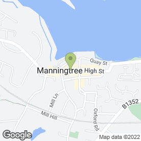Map of Sparlings Solicitors in Manningtree, essex
