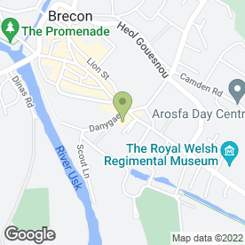 Map of Robert Price Builders' Merchants in Brecon, powys