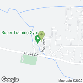 Map of MSD Evolution Martial Arts Academy in Bishops Cleeve, Cheltenham, gloucestershire