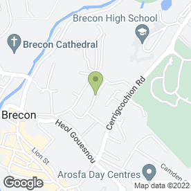 Map of Brecon Preservation & Construction in Brecon, powys