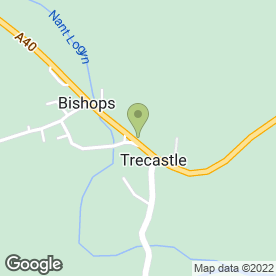Map of K Baverstock Plumbing Services in Trecastle, Brecon, powys
