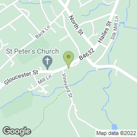 Map of Abbey Kitchens (Winchcombe) in Winchcombe, Cheltenham, gloucestershire