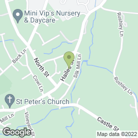 Map of Jameson Tree Surgery in Cheltenham, Gloucestershire, gloucestershire