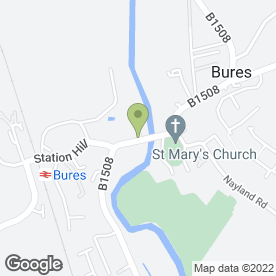 Map of The Village Deli in Bures, suffolk