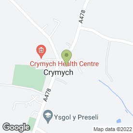 Map of Clear Clean Maintain in Crymych, dyfed