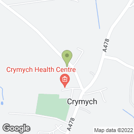 Map of Celtes Beauty in Crymych, dyfed