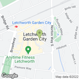 Map of The Chiropody Surgery in Letchworth Garden City, hertfordshire