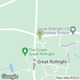 Map of Pest Solutions in Great Rollright, Chipping Norton, oxfordshire