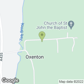 Map of Oxenton Builders Ltd in Cheltenham, gloucestershire