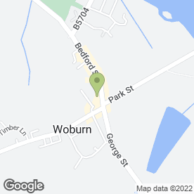 Map of GALLOWAY'S in Woburn, Milton Keynes, buckinghamshire