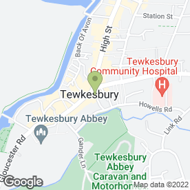 Map of Images Hair & Beauty in Tewkesbury, gloucestershire